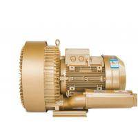 Wholesale Three Phase Regenerative Air Blower , High Pressure Ring Blower In Gold Color from china suppliers