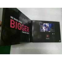 Wholesale 2.4/4.3/5/7/10 Inch HD screen Video In Print Brochure , matte lamination color Cover from china suppliers