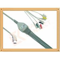 Wholesale 10 Pin 5 Leads Grabber IEC Datex Ohmeda Ecg Cable With Copper Conductor from china suppliers