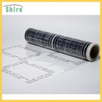 Wholesale No Residue Adhesive Stair Protection Film , Plastic Floor Protector Roll LOGO Printable from china suppliers