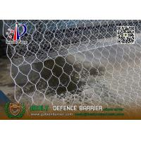 Buy cheap 8x10cm Wire gabion mesh baskets with lid | 2x1x1m | China Gabion Exporter from wholesalers