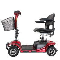 China Four wheel 9 inch disabled elderly electric mobility scooter 24V/180W on sale