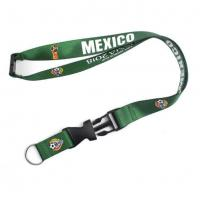Wholesale Cheap Custom Logo Printed Nylon Linking Woven Lanyard With Special Hook from china suppliers