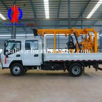 Wholesale XYC-200 vehicle-mounted hydraulic water well drilling rig Huaxiamaster sale 200m depth on-board drilling machine from china suppliers