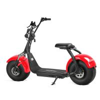 Wholesale EcoRider Two Wheels Electric Scooter Off Road Harley Scooter With 2 Seat from china suppliers