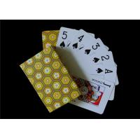 Wholesale OEM Black Core Paper Custom Printed Playing Cards / Custom Deck of Cards Front and Back from china suppliers
