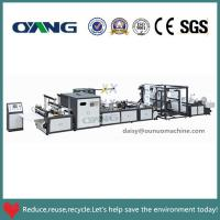 China Non Woven Bag Material and Bag Forming Machine Machine Type non woven T-shirt bag maker on sale