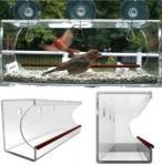Wholesale window bird feeder/clear window bird feeder/acrylic window bird feeder from china suppliers