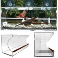 Quality window bird feeder/clear window bird feeder/acrylic window bird feeder for sale