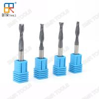 Wholesale BMR TOOLS coated cnc router bit 6 x 25 x 50mm 2flute end mill for wood cutting from china suppliers
