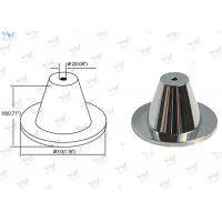 Wholesale Chrome Finished Ceiling Cable Hanging System Brass Ceiling Mounting Base from china suppliers