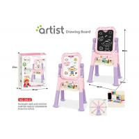 Wholesale Toddlers Arts And Crafts Toys Magnetic Drawing Boards W / Stand 2 Sides Painting from china suppliers