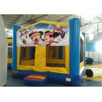 Wholesale Interesting PVC Tarpaulin Mickey Mouse Inflatable Bouncer Rental For Kids from china suppliers