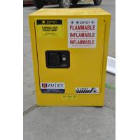 Wholesale Metal Chemical Storage Cabinets , Dangerous Goods Cabinets For Flammable Liquid from china suppliers