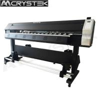 Buy cheap CrysTek CT-1800 eco solvent printer with Single Epson dx5/dx7 printhead 1440dpi from wholesalers