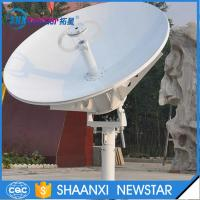 China 1.8m ring focus vsat RxTx small earth station satellite communication dish antenna on sale
