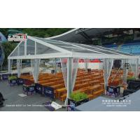Wholesale Large Transparent Wedding Marquee Tent With Wooden Floor Wind Load 100km/H from china suppliers