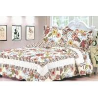 Wholesale 100% Cotton Quilted and Printed Bedspread Set, Comforter Set from china suppliers