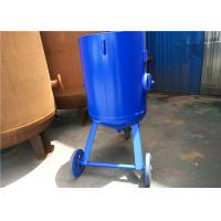 Quality Open Mobile Derusting Sand Blasting Machine 400mm Diameter 0.8MPA Pressure for sale