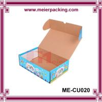 Wholesale Corrugated lady shoes box, fancy design paper packaging box ME-CU020 from china suppliers