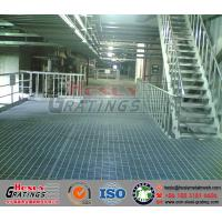 Wholesale Metal Bar Grating Industrial Platform from china suppliers
