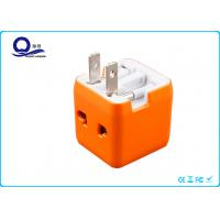 5 / 10 / 12 Watt Mini USB Power Adapter , All In One USB Wall Charger Adapter Plug for sale