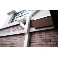 Wholesale K Type AES Resin Roof Rain Gutter Dark Brown For Roofing Water Carrying from china suppliers