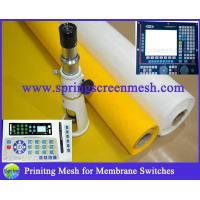 China Membrane Switches Printing Material Polyester mesh for sale
