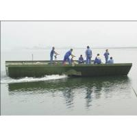 Wholesale 104m Prefabricated Military Pontoon Floating Bridge / Boats For Tank, Artillery from china suppliers