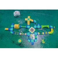 Wholesale Water Sport Game Inflatable Water Park Challenge Splash Island Water Park from china suppliers