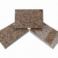 Tianshan Red Granite Tile, Available in Various Sizes, Designs for sale