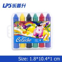 Quality Multicolor Art Water Soluble Crayons With Rotational Structure Rainbow Crayons for sale