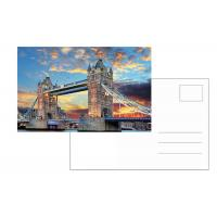 Wholesale London Tower Images 6x9 Inch 3D Lenticular Postcard For Souvenirs & Gifts from china suppliers