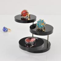 Quality Round Shape 5mm Thickness Acrylic Jewelry Display Stand Wholesales for sale