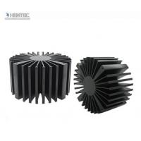 Wholesale T4 T5 T6 Temper Heat Sink Aluminium Extrusion Profiles with Black Anodized from china suppliers
