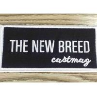 China Stick - On Custom Embroidered Patches And Badges Self Adhesive Label For Bag / Shoes on sale