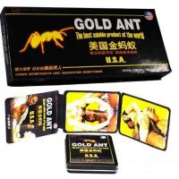 Buy cheap Man Enhancement Gold Ant Pills Make Sexual Stimulate Three Years Shelf Life from wholesalers