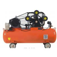 Wholesale Portable High Pressure Pison Belt Driven Air Compressor With Aluminium / Copper Wire Motor from china suppliers