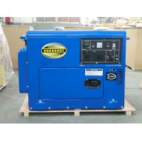Industrial Air Cooled Quiet Diesel Generator With 3000 / 3600 Rpm Engine Speed for sale