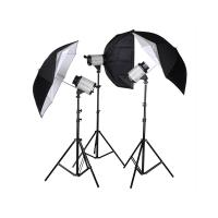 Wholesale Flash Duration 1/800 - 1/1200s Mini Space Studio Lighting Kits from china suppliers