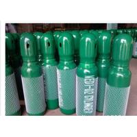 Buy cheap Green / Blue 34CrMo4 High Purity Compressed Gas Cylinder 200BAR 5.2mm Thickness from Wholesalers