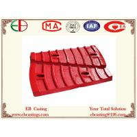 Wholesale Φ36004500 Mine Mill Feed End Liner Plates for Grinding Al2O3 Ore ASTM A532 Cr20Mo EB7007 from china suppliers