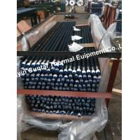 China SA179 Steel Welded Finned Tubes , Low Fin Tube And Pipe 0.8-3mm Fin Thick on sale