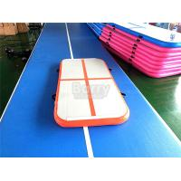 Buy cheap PVC Hand Made Small Orange Air Track Gymnastics Mat For Kids Gym Or Training from wholesalers