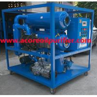 Wholesale Mobile High Vacuum Transformer Oil Filtration Plant For Sales from china suppliers