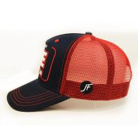 Buy cheap Customized Size Snapback Hats , Mesh Trucker Cap 3d Embroidered from wholesalers