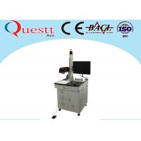 F - Theta Lens CNC Laser Marking Machine 30W Z Axis Automation System For Printing