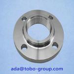 Industrial UNS 2201 S32750 / S32760 Long Weld Neck Flange 1/2- 48