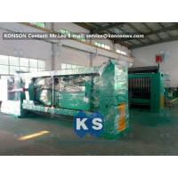 Wholesale Galvanized And PVC Coated Hexagonal Wire Netting Machine / Gabion Production Line from china suppliers