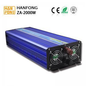 Wholesale Hanfong 230V 12V Intelligent Power Inverter 2000w Pure Sine Wave Inverter from china suppliers